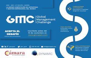 <div style=caret-color:>Ya están abiertas las inscripciones para el simulador empresarial Global Management Challenge en su edición 2020-2021.</div>  <div style=caret-color:></div>  <div style=caret-color:>Será la 41ª de esta competición que se despliega a nivel mundial.</div>  <div style=caret-color:></div>  <div style=caret-color:>El simulador GMC proporciona una formación gratuita dirigida a los universitarios españoles.Se trata de una oportunidad única para que el estudiante entienda el funcionamiento de una empresa y aprenda a tomar decisiones relativas a su gestión.</div>  <div style=caret-color:></div>  <div style=caret-color:>Debido a que la formación se lleva a cabo en modo competición por equipos de 3 a 4 componentes, los participantes encuentran una motivación especial para el aprendizaje y al mismo tiempo desarrollan habilidades de alto valor añadido como el trabajo el equipo, el liderazgo y la respuesta bajo presión.</div>  <div style=caret-color:></div>  <div style=caret-color:>Los 8 mejores equipos de cada Comunidad Autónoma disputarán su FINAL AUTONOMICA en el primer trimestre de 202 y todos los ganadores de Comunidad Autónoma disputarán una FINAL NACIONAL cuyo ganador representará a España en la FINAL INTERNACIONAL.</div>  <div style=caret-color:></div>  <div style=caret-color:>En la recién acabada edición 2019-2020 participaron más de 2.500 alumnos universitarios, formado un total de 688 equipos.</div>  <div style=caret-color:></div>  <div style=caret-color:>El plazo de inscripción finaliza el <strong>10 de noviembre</strong>.</div>  <div style=caret-color:></div>