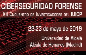 <p>El&nbsp;<a href=https://iuicp.uah.es/ rel=noopener target=_blank title=IUICP><strong><em>Instituto Universitario de Investigaci&oacute;n en Ciencias Policiales</em></strong></a>, organismo mixto dependiente de la Universidad de Alcal&aacute; y de la Secretar&iacute;a de Estado de Seguridad, celebra el congreso <strong><em>Ciberseguridad forense</em></strong>, en el marco del&nbsp;<strong>XII Encuentro de Investigadores del IUICP</strong>, en la Escuela Polit&eacute;cncia Superior de la UAH durante d&iacute;as 22 y 23 de mayo de 2019.<br /> <br /> En esta ocasi&oacute;n, por el inter&eacute;s policial y forense que suscita, y por sus m&uacute;ltiples consecuencias en la sociedad actual, el tema objeto del Encuentro se centra en el &aacute;mbito de la ciberseguridad en el entorno forense.</p>  <p>M&aacute;s informaci&oacute;n en la <a href=https://congresosalcala.fgua.es/encuentroiuicp2019/>p&aacute;gina del encuentro.</a></p>